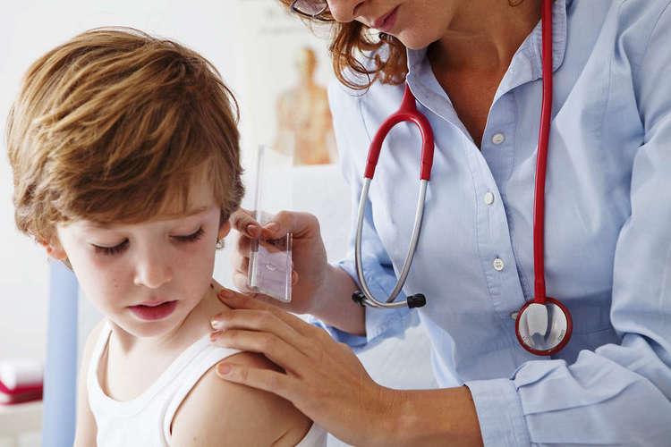 Лечение контагиозного моллюска у малыша