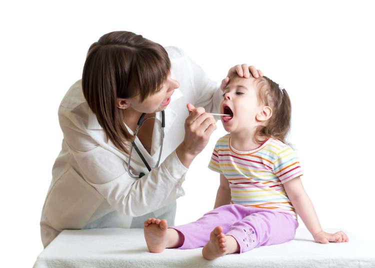 Распространенная проблема воспаленные миндалины у ребенка и способы их лечения