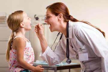 Лечение фолликулярной ангины у ребенка