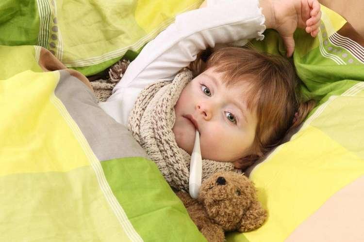 Воспаление миндалин у ребенка