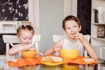 молочные супы для детей
