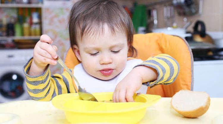 суп для детей из молока