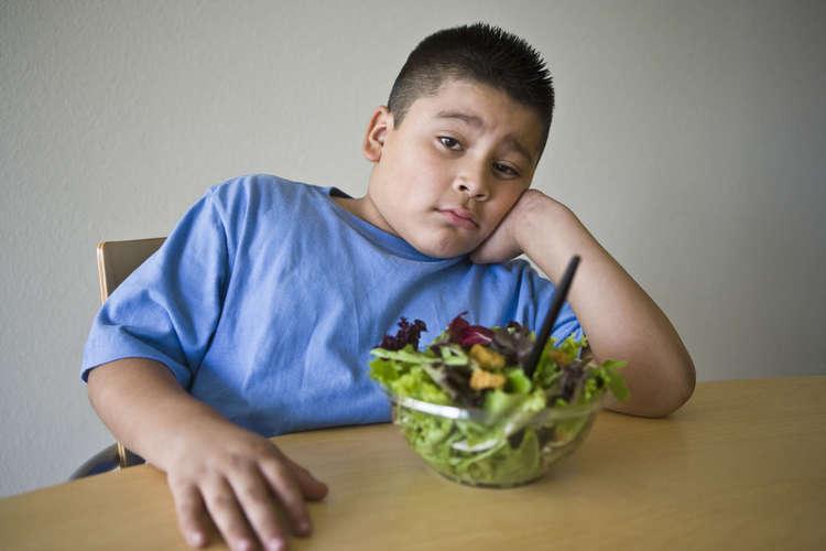 Как похудеть ребенку с избыточным весом