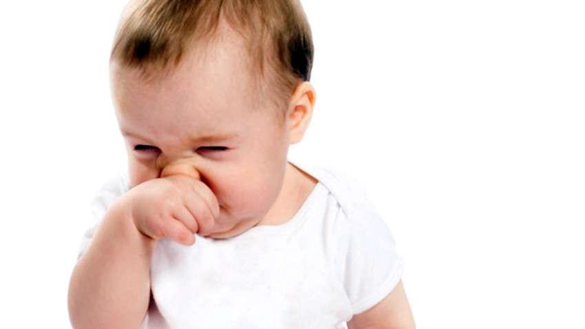 у малыша заложен нос
