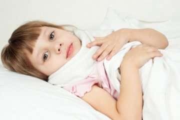 вылечить ангину у детей