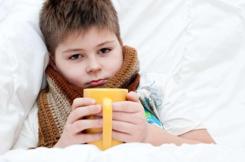 симптомы ангину у детей