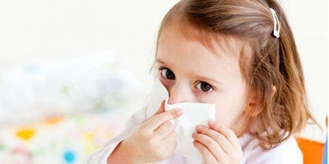 у ребенка заложен нос