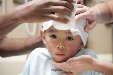 сотрясение мозга у малыша