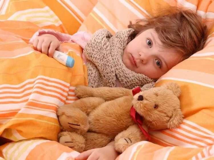 Симптомы гриппа у малышей