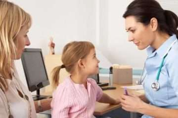 Симптоматика сахарного диабета у ребёнка