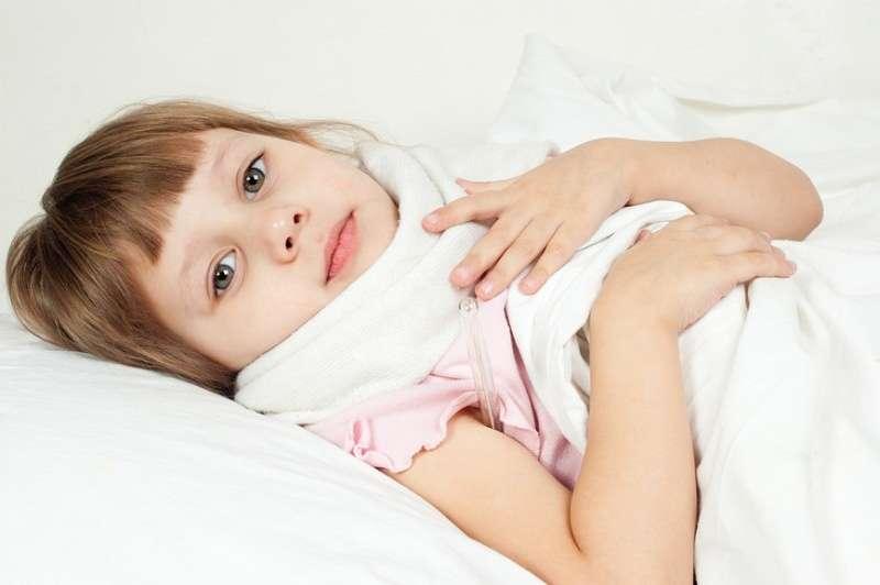 Лечение ангины у малышей