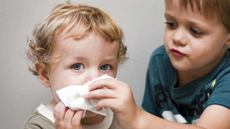 у детей заложен нос